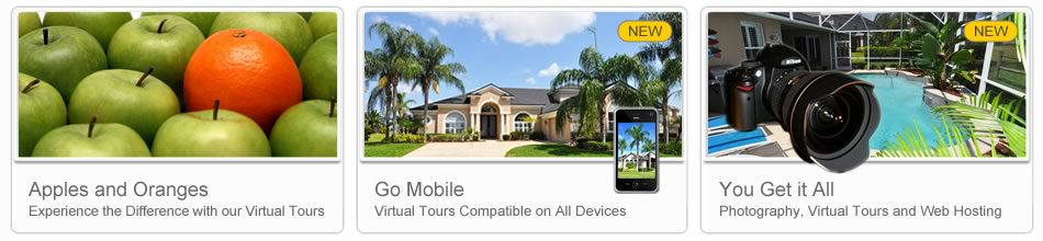 360 tours, photography, photographers and best tours in Kissimmee, FL.